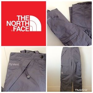 North Face 🏂 Gray HyVent Insulated ⛷ Ski Pants